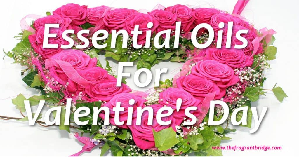 Essential oils for Valentine's day header