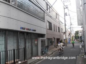 MMM building at street entrance