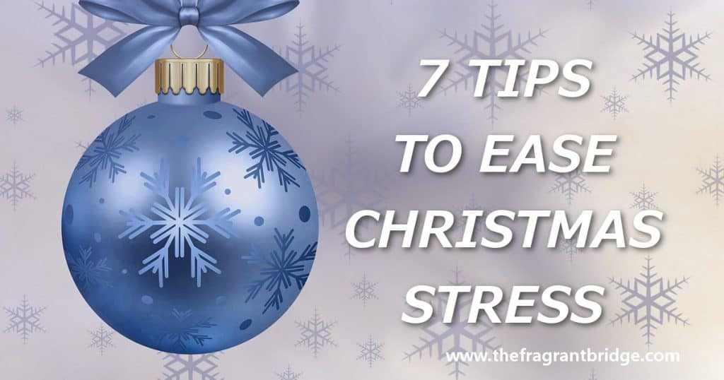 7 tips to ease Christmas stress header