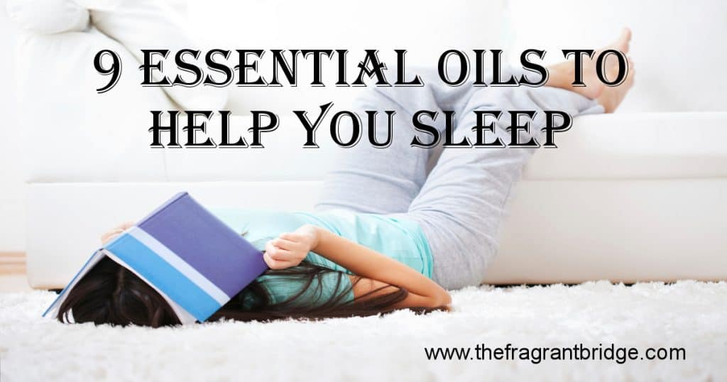 9 EO's to help you sleep