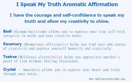I speakmy truth affirmation