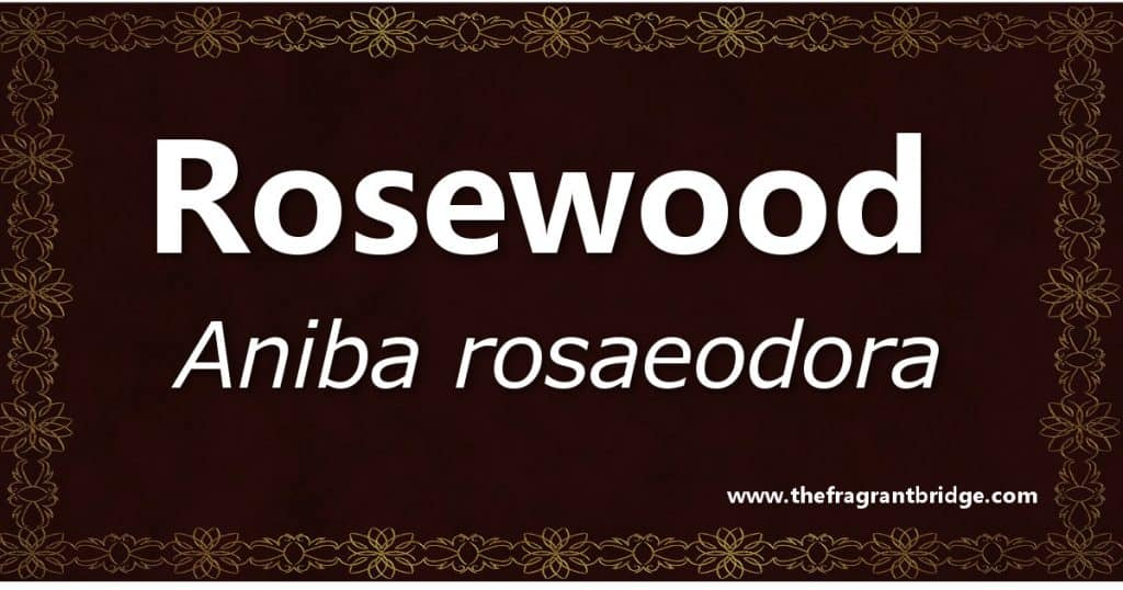 Rosewood header