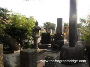 Usui's gravesite and memorial stone
