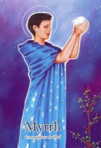 Myrrh aromatherapy insight card