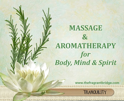 Massage and aromatherapy helping women to regain their vitality