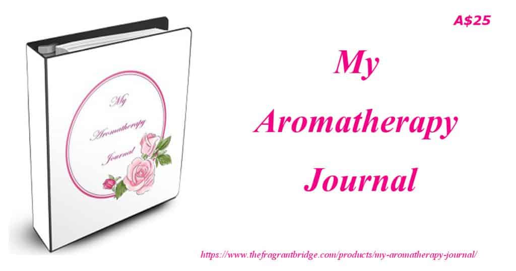 My Aromatherapy Journal header