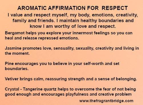 Respect Aromatic Affirmation