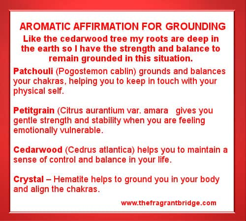 Grounding Aromatic Affirmation